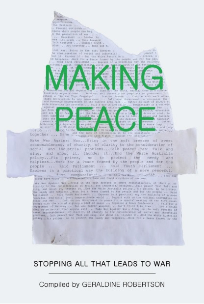 Making Peace front cover