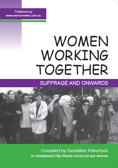 Women Working Together front cover